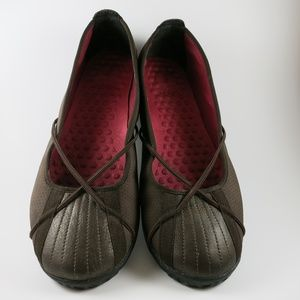 Privo Brown Penny Flats Size 9